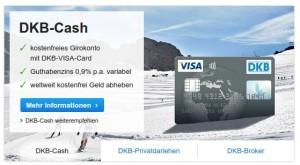 Damit wirbt die DKB. Wer nicht genau aufpasst, zahlt  ganz bestimmt viele fiese Gebühren. Nichts ist gratis :-)